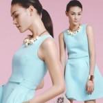 Thời trang - Thùy Trang thanh lịch hơn với xanh bạc hà