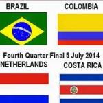 Bóng đá - Tứ kết World Cup: Brazil, Hà Lan coi chừng ngựa ô