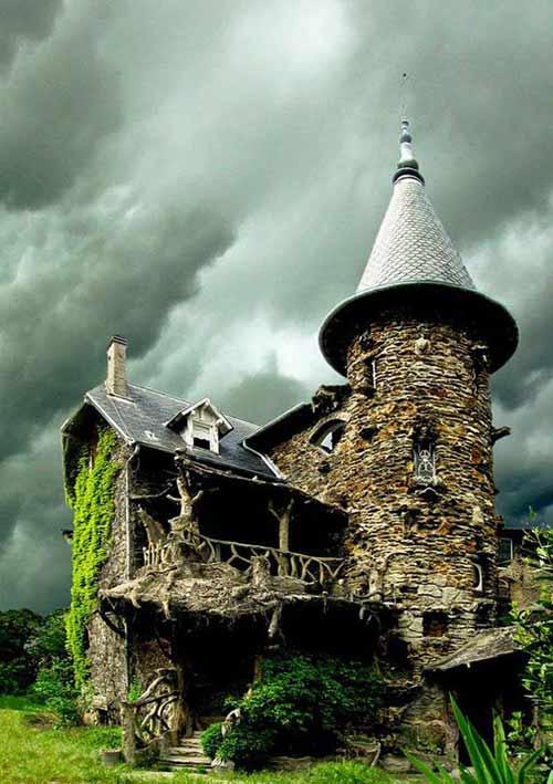 Độc và lạ những ngôi nhà bước ra từ cổ tích - 14