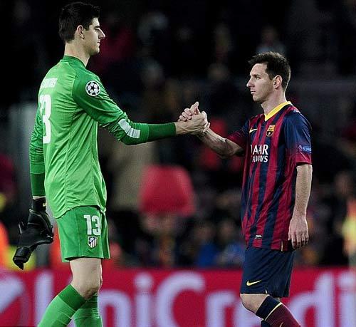 """4 phát hiện về thủ môn Bỉ khiến Messi sẽ """"đau đầu"""" - 2"""