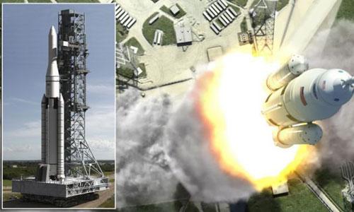 NASA và Boeing chế tạo tên lửa lớn nhất thế giới - 1