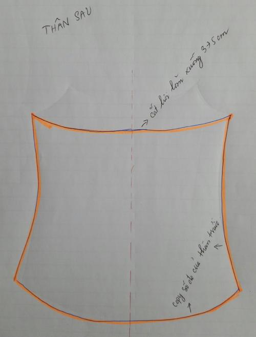 Tự may áo hai dây diện hè chỉ trong 30 phút - 3