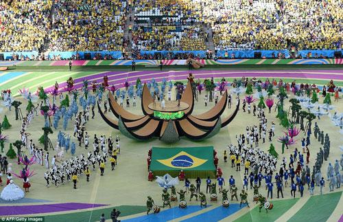 Shakira sẽ hát bế mạc World Cup 2014 - 2