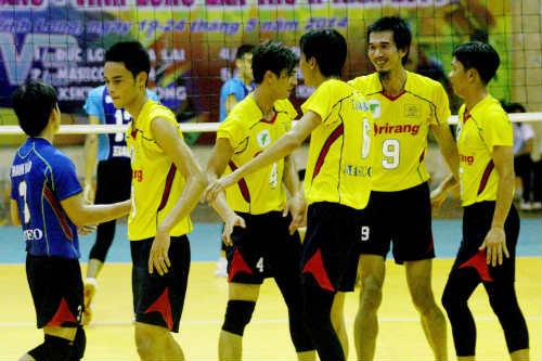 Giải bóng chuyền vô địch quốc gia 2014: Chỉ có 1 vòng đấu - 1
