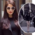 Thời trang - Trương Ngọc Ánh bị truy đuổi, xé váy tại Pháp