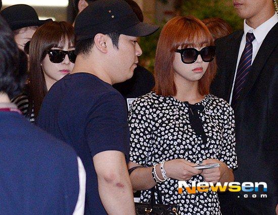 Park Bom (2NE1) xuất hiện lần đầu sau scandal ma túy - 4