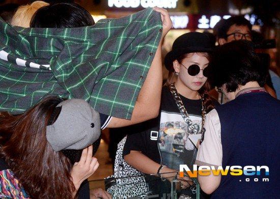 Park Bom (2NE1) xuất hiện lần đầu sau scandal ma túy - 6