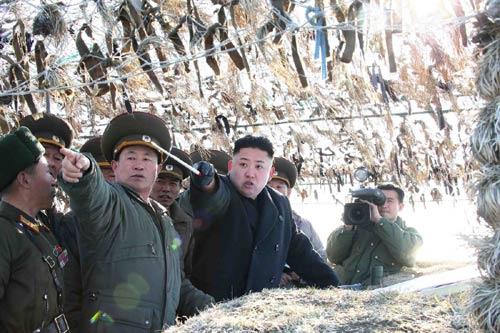 Triều Tiên lấy biểu tượng quốc gia TQ làm bia tập bắn - 1
