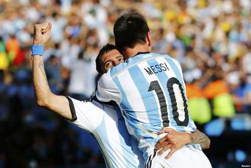 Argentina – Bỉ: Phô trương hỏa lực - 2
