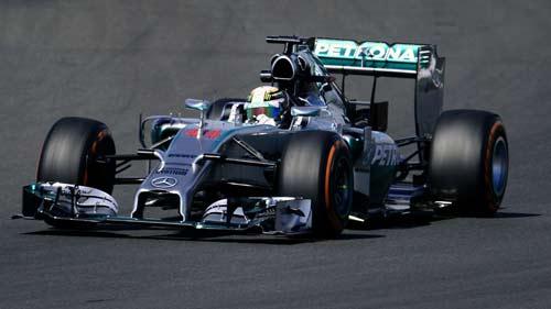 Chạy thử British GP 2014: Tiếp diễn nội chiến Mercedes - 1