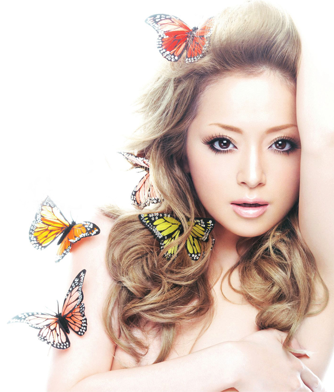 Ayumi Hamasaki là diva của làng nhạc Pop Nhật Bản.