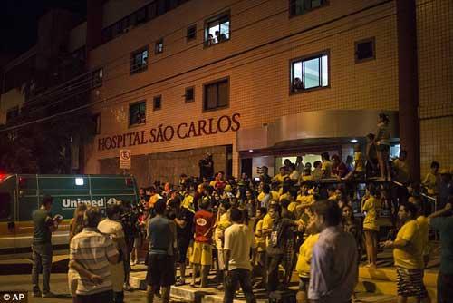 Neymar bị chấn thương nặng, Brazil buồn tê tái - 3