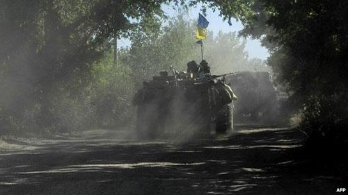 Ukraine giành lại thành phố chiến lược Slovyansk - 2