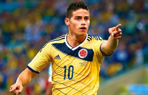 M.U quyết phá kỷ lục chiêu mộ James Rodriguez - 1