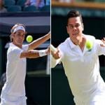 Thể thao - Federer - Raonic: 3 set một kịch bản (Bán kết Wimbledon)