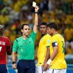"""Bóng đá - Dính thẻ """"ngớ ngẩn"""", Silva khiến Brazil gặp khó"""