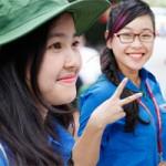 Bạn trẻ - Cuộc sống - Nữ sinh Ngoại thương xinh tươi trong màu áo tình nguyện