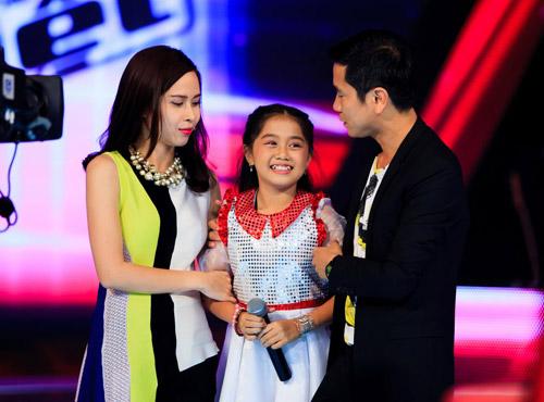 Cẩm Ly bất ngờ thắng lớn tại The Voice Kids - 5