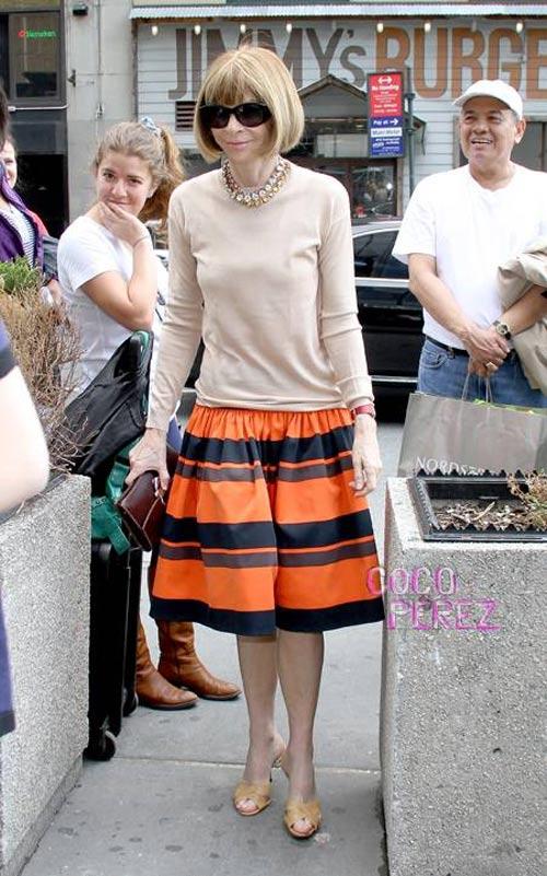 """Học """"nữ hoàng làng thời trang"""" cách mặc đẹp - 3"""