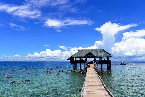 Hòn đảo xanh thần tiên ở biển Cebu - 2