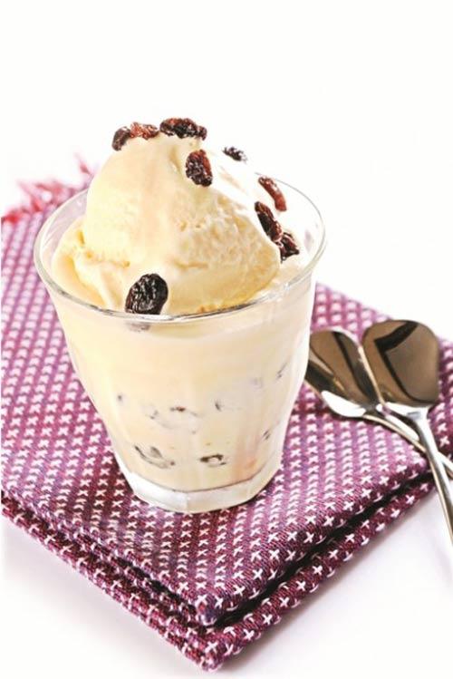 Làm kem Rhum nho mát lạnh giải nhiệt ngày hè - 1