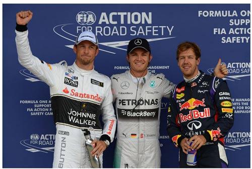 Phân hạng British GP: Rosberg đoạt pole, chạm tay vào ngôi vương - 1