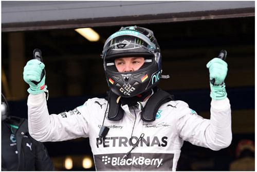 Phân hạng British GP: Rosberg đoạt pole, chạm tay vào ngôi vương - 3
