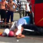 Tin tức trong ngày - Đấu đầu xe khách, hai người đi xe máy tử vong
