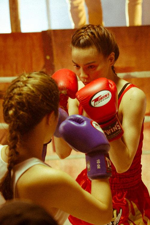 """Hà Hồ """"máu lửa"""" trên sàn boxing - 9"""