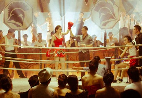 """Hà Hồ """"máu lửa"""" trên sàn boxing - 11"""