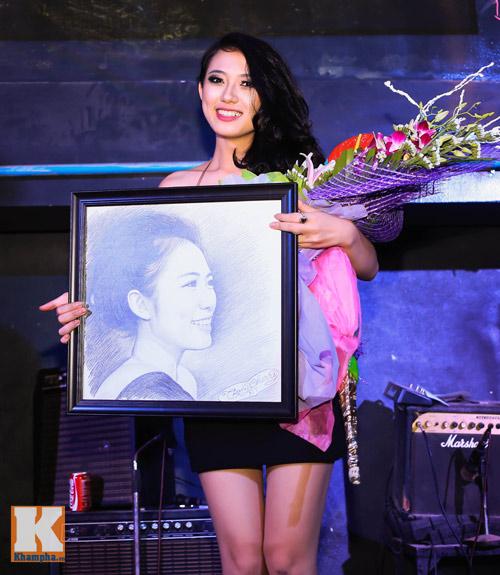 Trang Cherry khoe tài sáng tác nhạc trong minishow - 11
