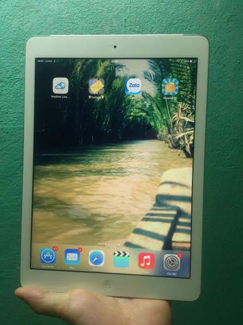 iPad Air 2 đọ dáng iPad Air, dùng cảm biến vân tay - 12