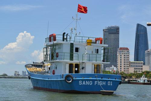 Cận cảnh tàu cá vỏ sắt đầu tiên sắp vươn khơi - 8