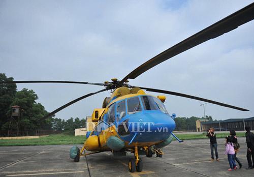 Cận cảnh trực thăng Mi-171 trước khi bị rơi tại Hòa Lạc - 1