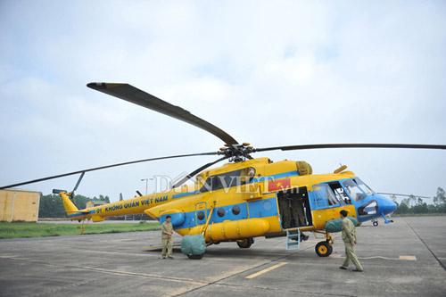 Cận cảnh trực thăng Mi-171 trước khi bị rơi tại Hòa Lạc - 2