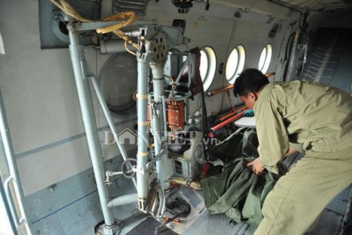 Cận cảnh trực thăng Mi-171 trước khi bị rơi tại Hòa Lạc - 6
