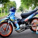 Ô tô - Xe máy - Yamaha Z độ hiệu ứng gân hoa hồng của biker Sóc Trăng