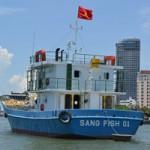 Tin tức trong ngày - Cận cảnh tàu cá vỏ sắt đầu tiên sắp vươn khơi