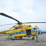 Tin tức trong ngày - Cận cảnh trực thăng Mi-171 trước khi bị rơi tại Hòa Lạc