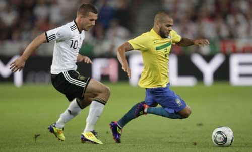 Brazil vs Đức: Siêu kinh điển của thế giới - 1