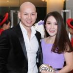 """Phim - Vợ chồng Phan Đinh Tùng """"nổi bật"""" tại đám cưới Gia Bảo"""
