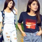 """Thời trang - Diện jeans rách thật """"ngầu"""" như VJ Phương Linh"""