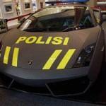 Ô tô - Xe máy - Cảnh sát Indonesia cũng tậu Lamborghini Aventador