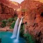 Du lịch - Thác nước đẹp như tranh vẽ ở hẻm núi Grand Canyon