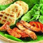Ẩm thực - Khô cá với khoai mì nướng đậm đà chất quê