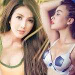 Bạn trẻ - Cuộc sống - Hot girl Việt gợi cảm trong màu áo thần tượng