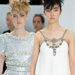 Thời trang - Chanel gây ấn tượng mạnh với cô dâu có bầu