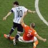 Góc 3D: Nghẹt thở màn đấu súng Hà Lan - Argentina