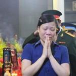 Xúc động lễ tang 18 chiến sĩ hy sinh vụ máy bay rơi