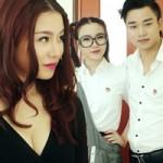 Bạn trẻ - Cuộc sống - Hot girl Linh Miu sexy tới giảng đường